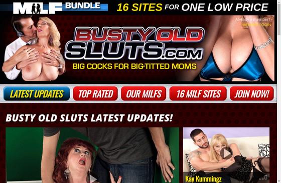 Busty Old Sluts