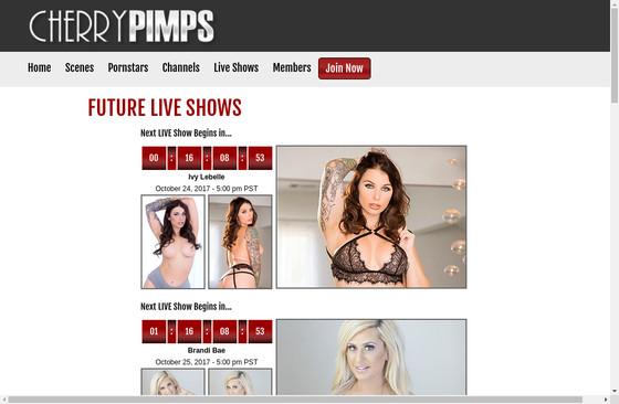 Cherry Pimps LIVE Shows