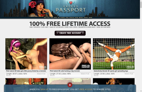 Free 3 D Passport