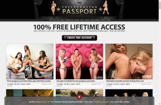 Free Pornstar Passport