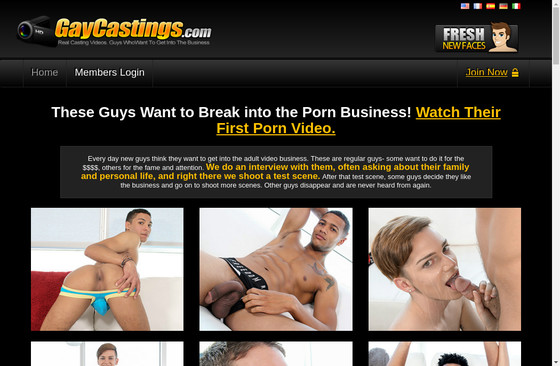 Gay Castings Tube