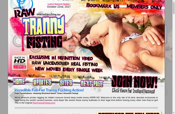 Raw Tranny Fisting