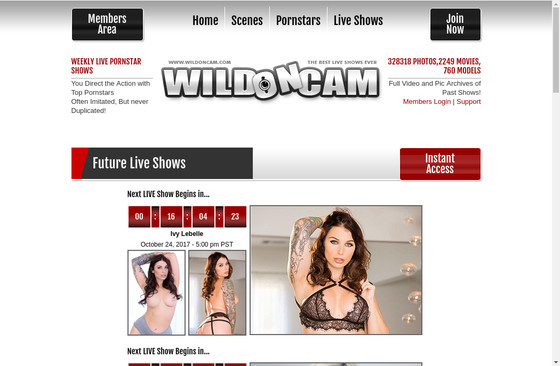 Wild on Cam LIVE Shows