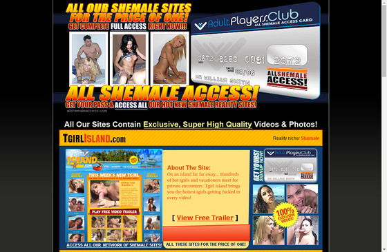 All Shemale Access