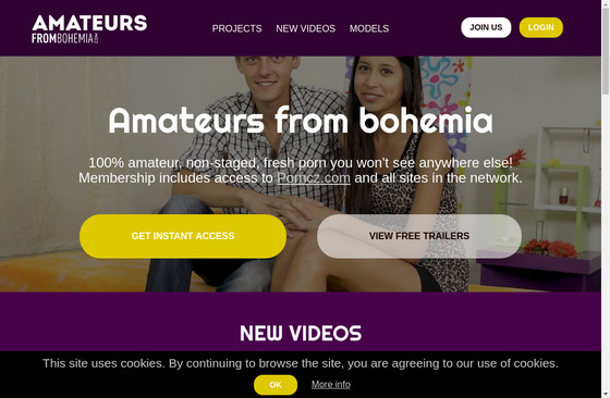 Amateurs From Bohemia