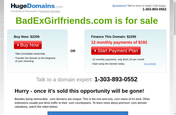 Bad Ex Girlfriends
