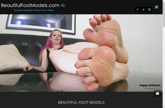 Beautiful Foot Models