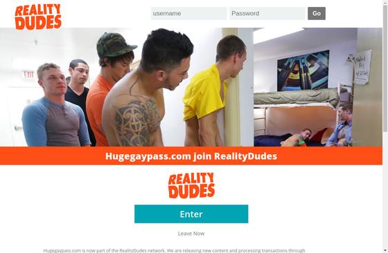 Huge Gay Pass