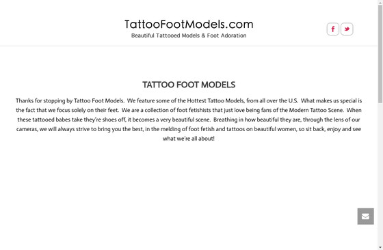 Tattoo Foot Models