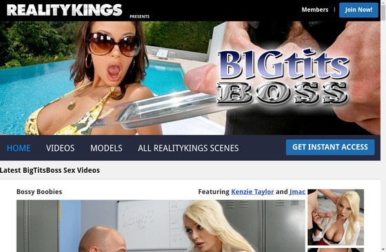 Big Tits Boss