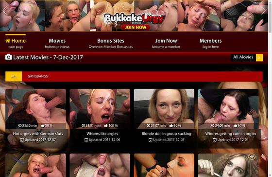 Bukkake Orgy