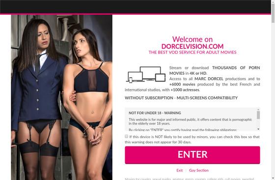 Vision dorcel Dorcelvision Porn