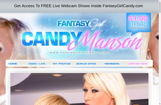 Fantasy Girl Candy Manson