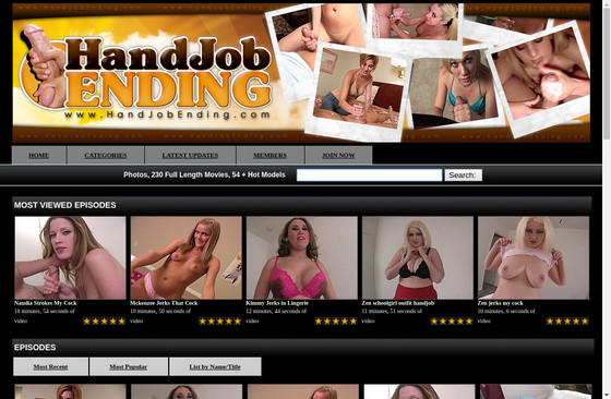 Handjob Ending