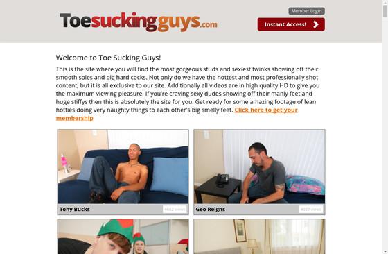 Toe Sucking Guys