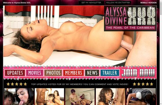 Alyssa Divine XXX