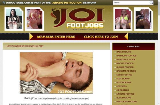 JOI Footjobs