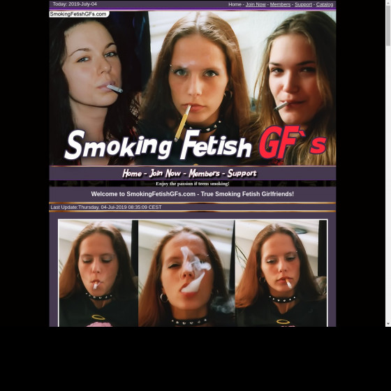 smoking fetish g fs