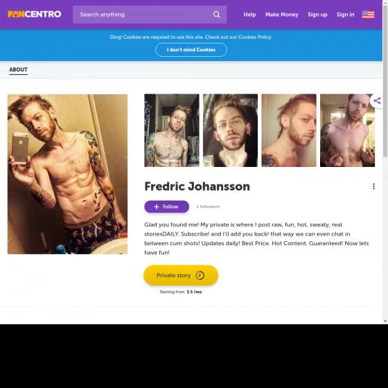 fredric johansson